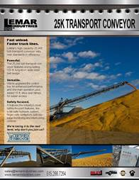 25K Conveyor Brochure Cover