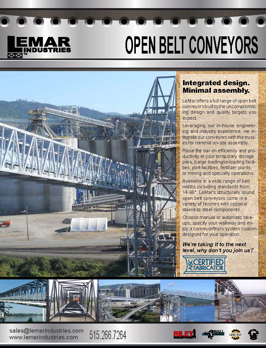 Open Belt Conveyors Brochure